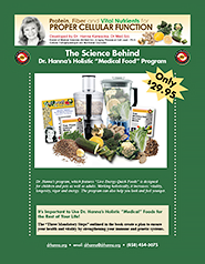 The Science Behind Dr. Hanna's Holistic 'Medical Food' Program